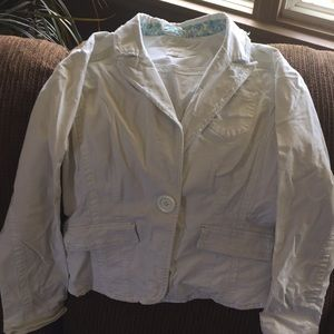 Brody blazer jacket white
